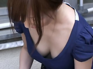 Cute japanese babe with..