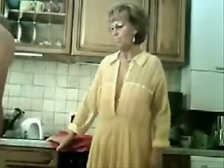 Granny Gets Fingered By Her..
