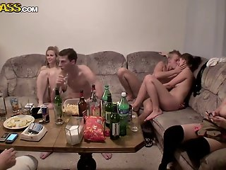 Hot college fucking party..