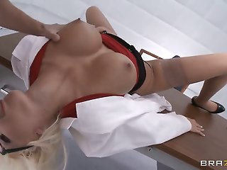 Johnny Sins fucks his sexy..