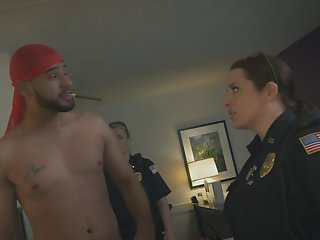 Arab guy raided by big boobs..