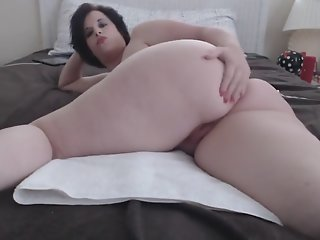 Bbw squirting and orgasm..